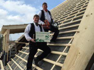 Wir bieten Ihnen PEFC-zertifiziertes Holz